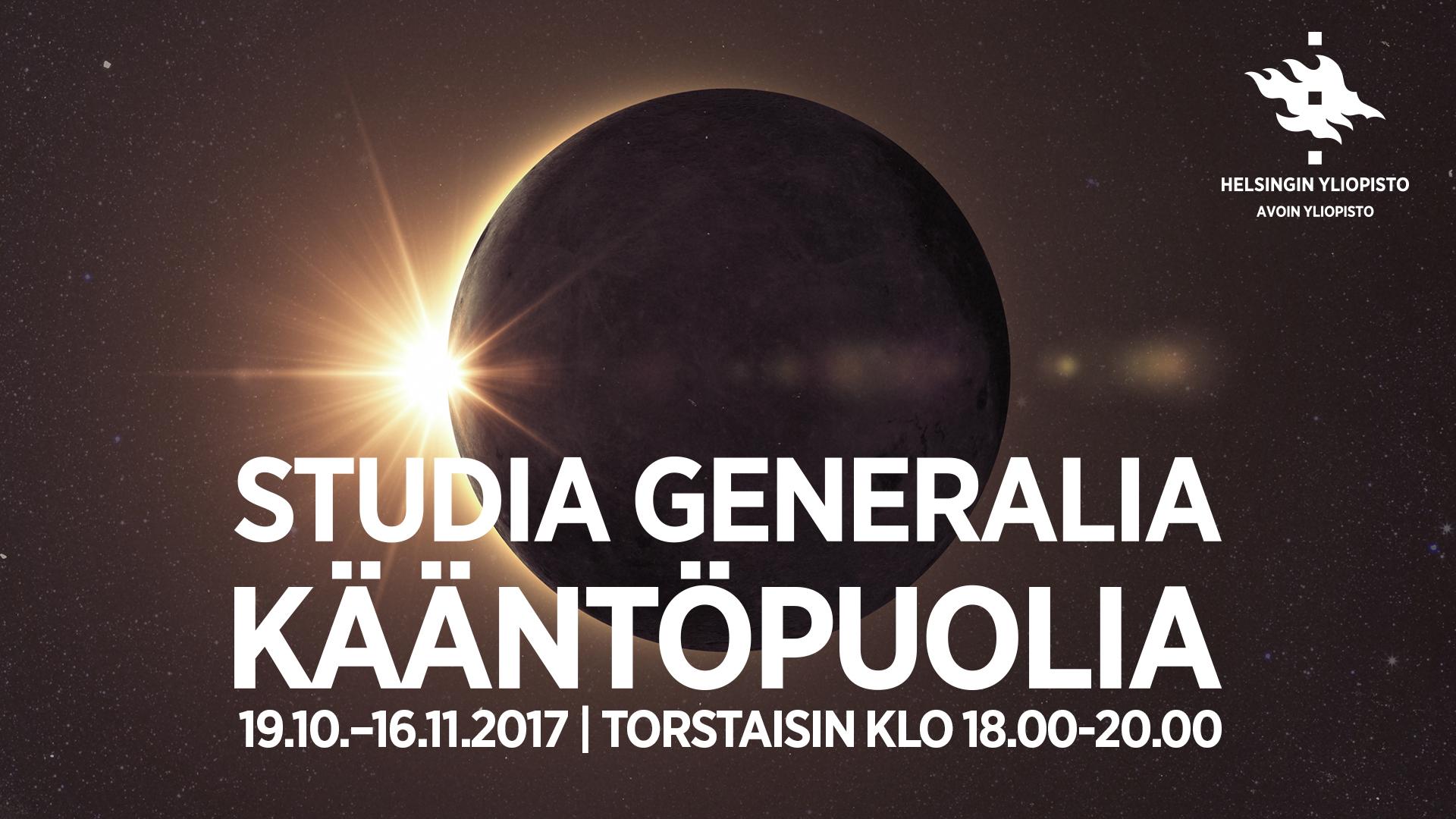 Studia Generalia Kääntöpuolia: Keko ja kerrostalo